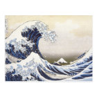 Hokusai's Great Wave Postcard