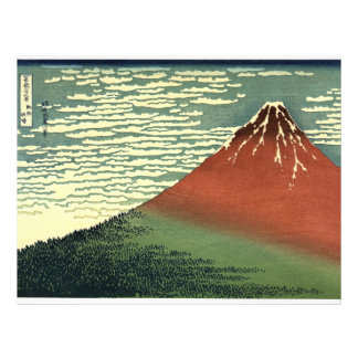 """Hokusai's South Wind, Clear Sky or """"Red Fuji"""" Flyer"""