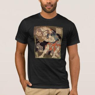 Hokusai's 'Sumo Wrestlers' T-Shirt