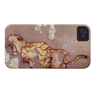 Hokusai's 'Tiger in the Snow' iPhone 4 Case