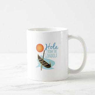 Hola From Gondola Basic White Mug