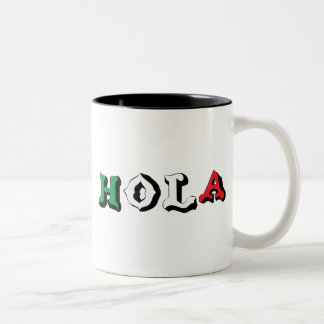 HOLA COFFEE MUGS