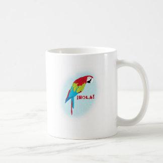 hola parrot coffee mug