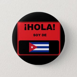 Hola! Soy De Cuba Badge
