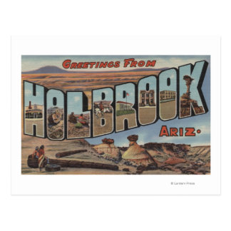 Holbrook Arizona - Large Letter Scenes Postcards