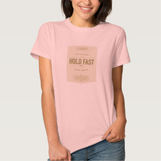 HOLD FAST to the Iron Rod. LDS women's shirt. T Shirts