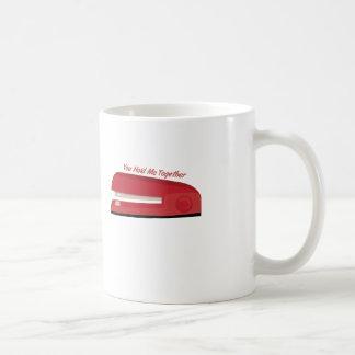 Hold Me Together Classic White Coffee Mug