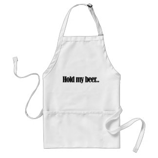 Hold my Beer Standard Apron