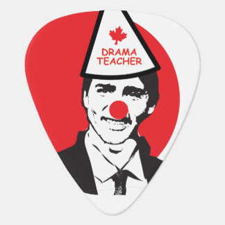 Hold My Beer Funny Justin trudeau Canada Clown Plectrum