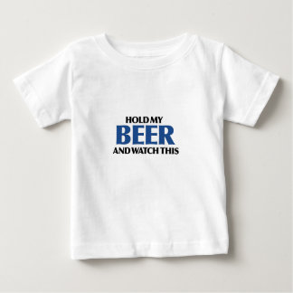 Hold My Beer (The Blue Bomber) Baby T-Shirt