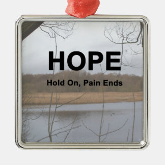 Hold On, Pain Ends Christmas Ornament