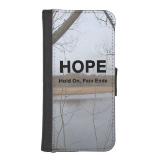 Hold On, Pain Ends iPhone SE/5/5s Wallet Case