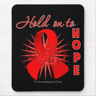 Hold On To Hope - Blood Cancer Mouse Pad