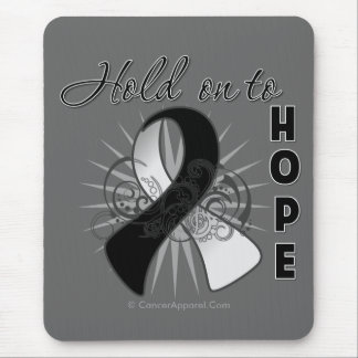 Hold On To Hope - Carcinoid Cancer Mouse Pad