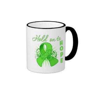Hold on To Hope - Lyme Disease Ringer Mug