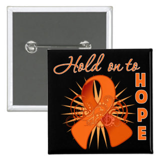 Hold on To Hope - Multiple Sclerosis 15 Cm Square Badge