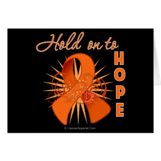 Hold on To Hope - Multiple Sclerosis Greeting Card