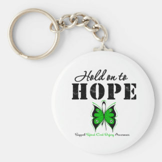 Hold On To Hope Spinal Cord Injury Key Chains