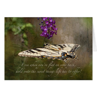 Hold onto the Sweet Things Life has to offer . . . Greeting Card