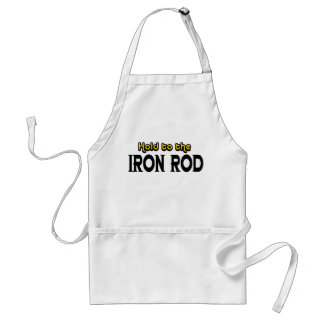 Hold to the Iron Rod Adult Apron