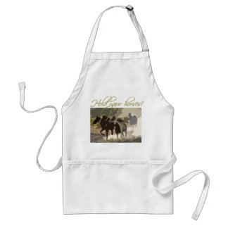 Hold your horses! standard apron