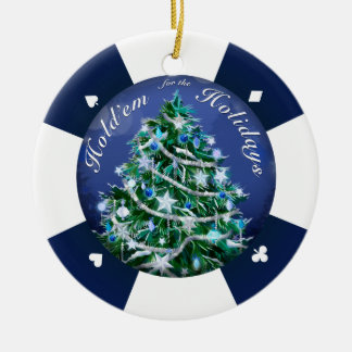 Hold'Em for the Holidays Christmas Ornament