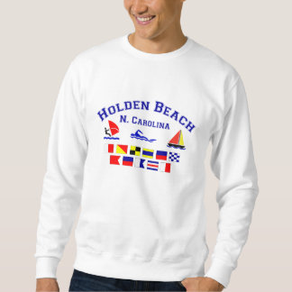Holden Beach Nc Signal Flags Sweatshirt