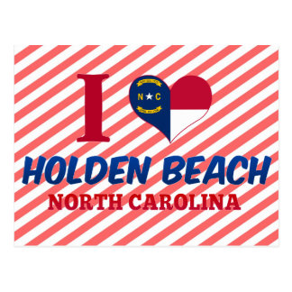 Holden Beach, North Carolina Postcard