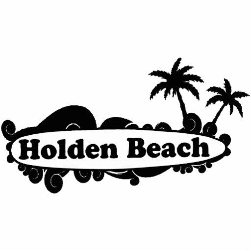 Holden Beach. Acrylic Cut Out