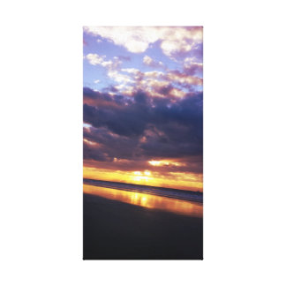 Holden Beach Sunset Gallery Wrap Canvas