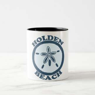 Holden Beach. Two-Tone Coffee Mug