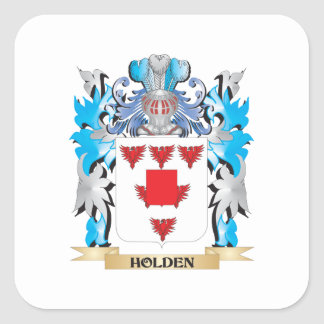 Holden- Coat of Arms - Family Crest Square Stickers