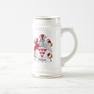 Holden Family Crest Mugs