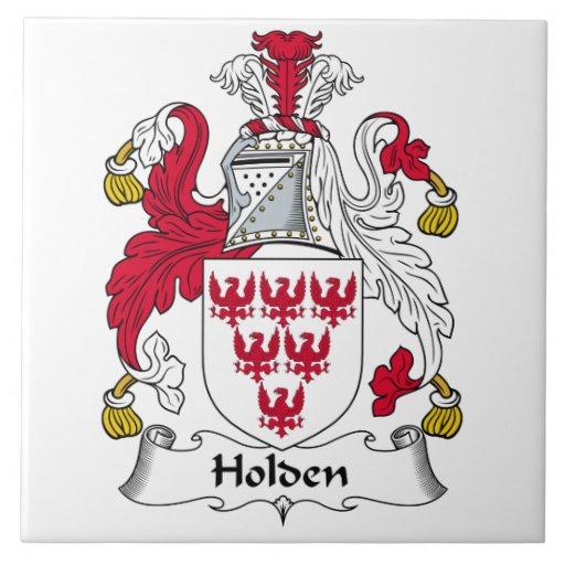 Holden Family Crest Ceramic Tile