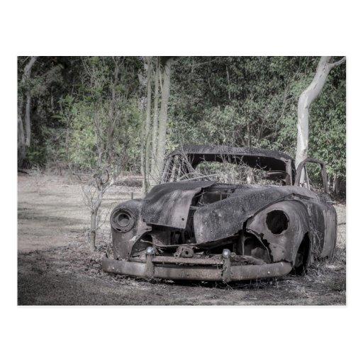Holden FJ Ute Car Lives Forever Post Card