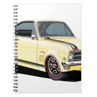 Holden HG Monaro - Munro Spiral Notebook