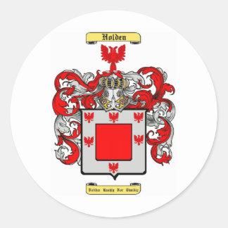 Holden Round Sticker