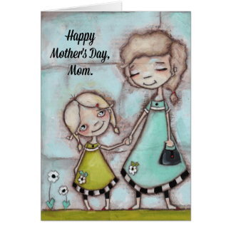Holding Hands - Mother's Day Card