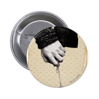 Holding hands with Horcrux 6 Cm Round Badge