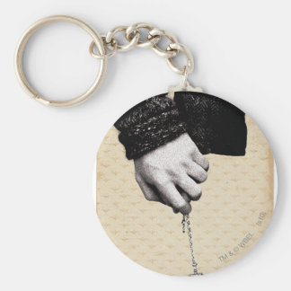 Holding hands with Horcrux Basic Round Button Key Ring