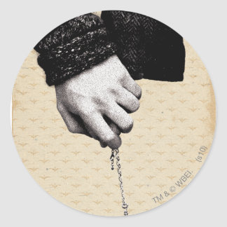 Holding hands with Horcrux Round Sticker