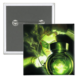 Holding the Green Lantern 15 Cm Square Badge