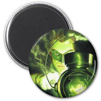 Holding the Green Lantern 6 Cm Round Magnet