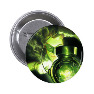 Holding the Green Lantern 6 Cm Round Badge