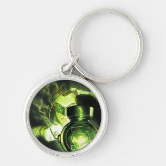 Holding the Green Lantern Key Ring
