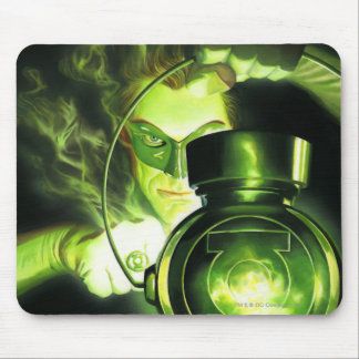 Holding the Green Lantern Mouse Mat