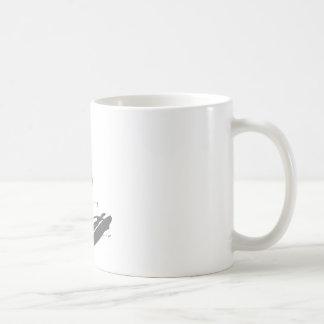 HoldingSurfBoard050111 Basic White Mug
