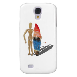 HoldingSurfBoard050111 Galaxy S4 Case