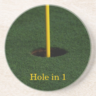 Hole in 1 Coaster