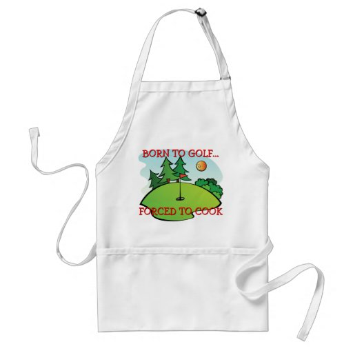 Hole In One Best Golfer Cook Aprons